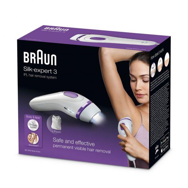 בראון מכשיר להסרת שיער בלייזר BRAUN BD3005 IPL