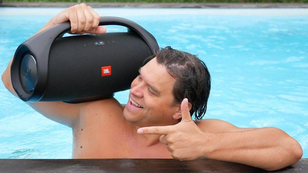 רמקול נייד JBL Boombox