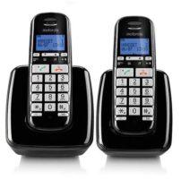 טלפון אלחוטי בעברית עם דיבורית ושלוחה נוספת Motorola S3002