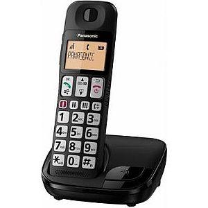 טלפון פנסוניק לכבדי ראיה ושמיעה Panasonic KX-TGE110