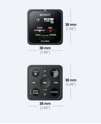 מכשיר הקלטה דיגיטלי סוני Sony ICD-TX800