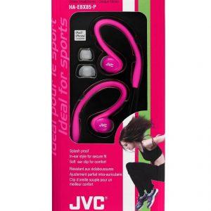 אוזניות ספורט סטריאו חוטיות JVC HA-EBX85