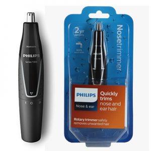 קוצץ שערות לאף ולאוזן ללא כאבים PHILIPS NT1120