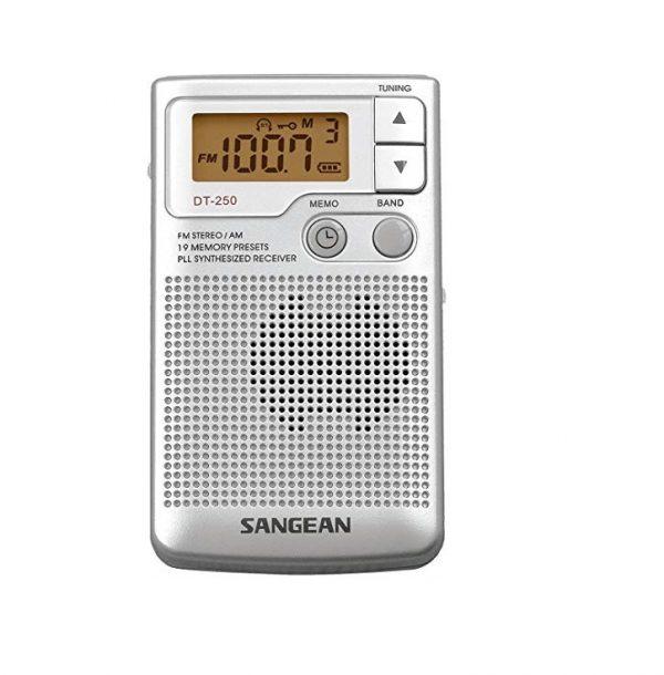 רדיו טרנזיסטור דיגיטלי נייד סנג'ין SANGEAN DT250