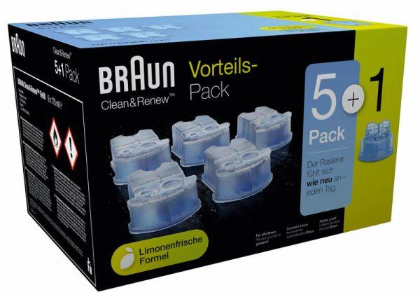 נוזל שטיפה למכונת גילוח בראון BRAUN CCR5+1