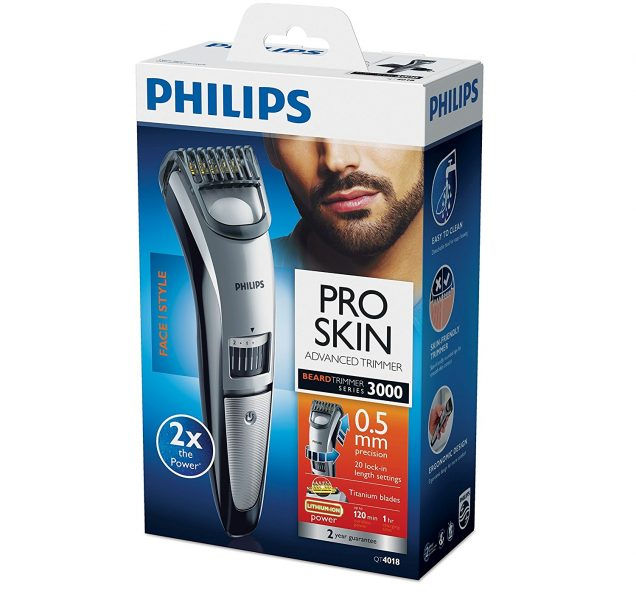 מכונת תספורת לזקן Philips QT4018 פיליפס