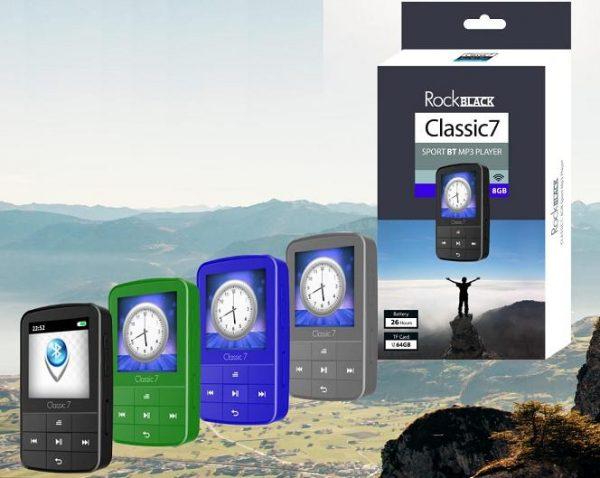 נגן מוזיקה כשר למהדרין עם בולוטוס  SAMVIX classic 7- 8GB