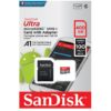 כרטיס זיכרון SanDisk Ultra SDSQUAR-400G Micro SD