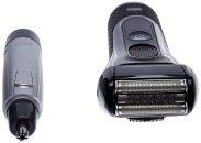 מכונת גילוח בראון כולל קוצץ שיער אף ואוזן BRAUN 5030s + NA10
