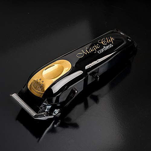 מדהים מכונת תספורת Wahl Cordless Magic Clip Clipper Black & Gold Edition UC-48