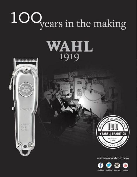 """מכונת תספורת """" 100 שנה לוואל """" WAHL 1919"""
