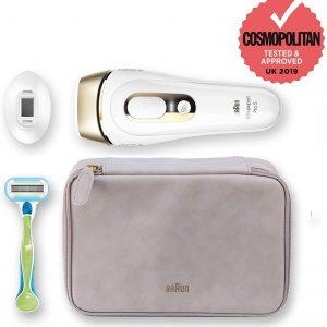 מכשיר להסרת שיער בלייזר ביתי BRAUN Slik exper PRO 5 דגם PL5124