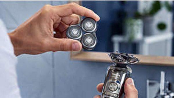 סט סכינים למכונת גילוח פיליפס PHILIPS Prestige SH98