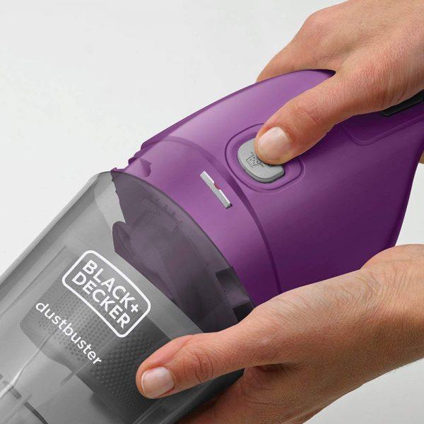 שואב אבק ידני Black & Decker בלאק אנד דקר NVB115W