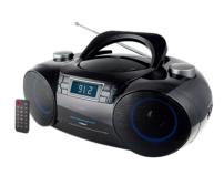 מערכת שמע נייד כולל דיסק רדיו דיגיטלי Bluetooth +USB שלט