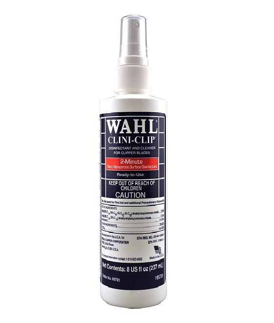 ספריי חיטוי וניקוי למכונות תספורת ומכונת גילוח ומספריים מבית WAHL