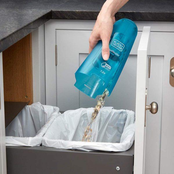 שואב אבק ידני רטוב יבש Black & Decker בלאק אנד דקר WDC215WA