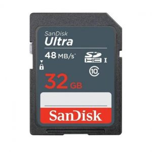 כרטיס זיכרון SanDisk SD 64GB