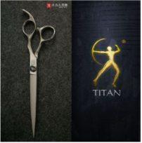 """מספריים מקצועיות לספרים 5.5"""" TITAN"""