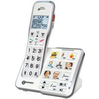 טלפון אלחוטי לאנשים עם מגבלת שמיעה DECT595