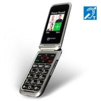 טלפון סלולרי מוגבר המתאים במיוחד למבוגרים ולכבדי שמיעה דגם CL8500