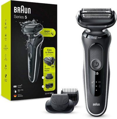 מכונת גילוח בראון החדשה סדרה 5דגם BRAUN 50W-1000S