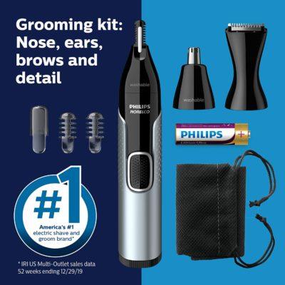 קוצץ שיערות  של אף ואוזן פיליפס דגם חדש PHILIPS NT5600