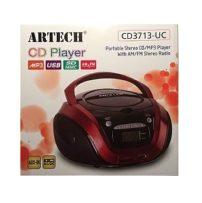 רדיו דיסק נייד כולל USB, CD, SD, MP3