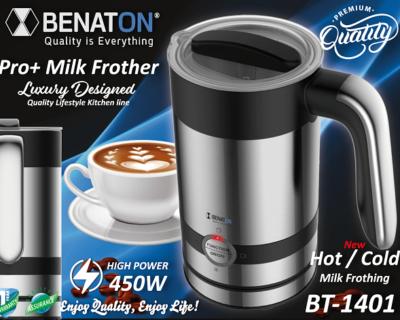 מקציף חלב ומחמם BENATON BT-1401