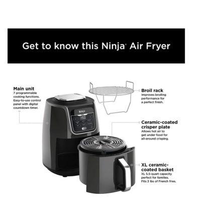 מכשיר טיגון ללא שמן נינג'ה Ninja AF160